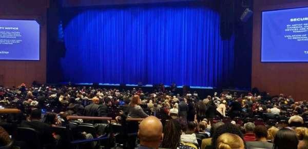 The Theater at MGM National Harbor, secção: 102, fila: K, lugar: 12