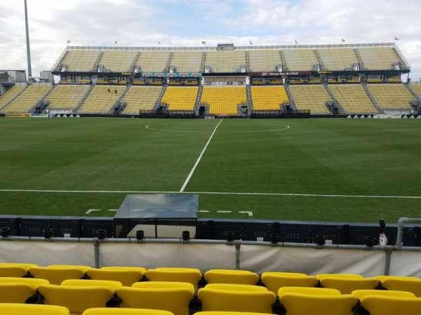 Mapfre Stadium, secção: 106, fila: 5, lugar: 9