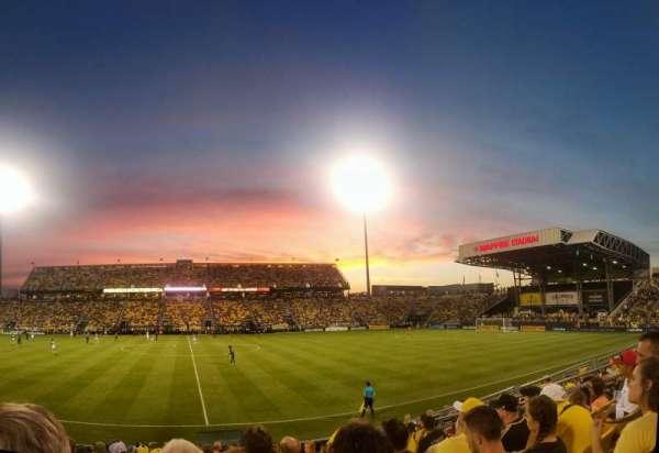 Mapfre Stadium, secção: 106, fila: 11, lugar: 13