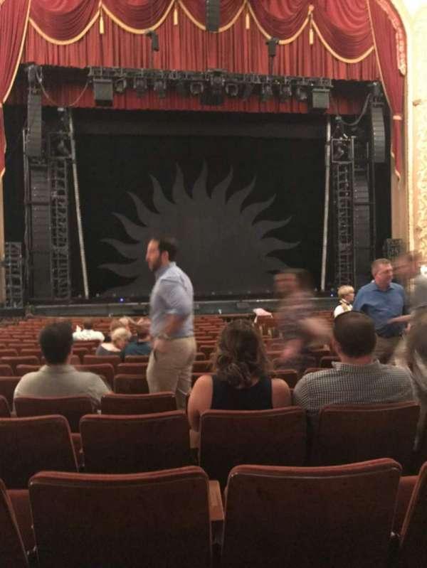 Orpheum Theatre (Memphis), secção: OLC, fila: S, lugar: 205