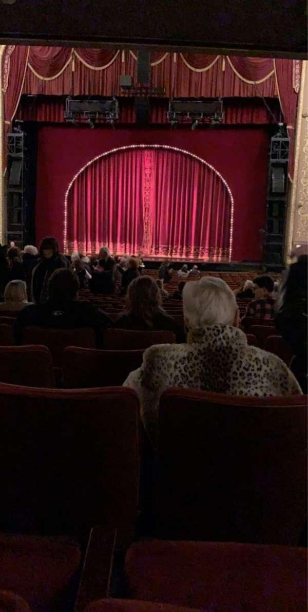 Orpheum Theatre (Memphis), secção: Orchestra RC, fila: CC, lugar: 107