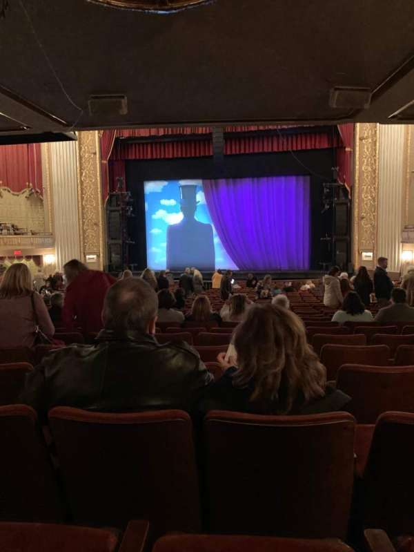 Orpheum Theatre (Memphis), secção: OrchRC, fila: DD, lugar: 104