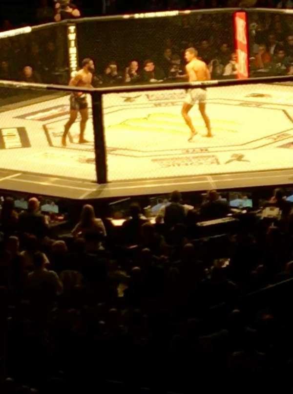 Madison Square Garden, secção: 119, fila: 22
