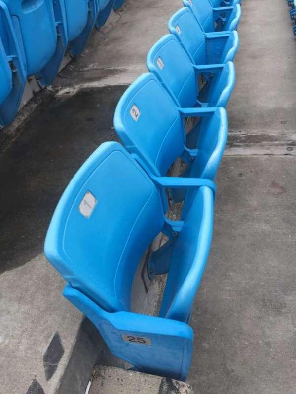 Bank of America Stadium, secção: 544, fila: 25, lugar: 1, 2, 3, 4
