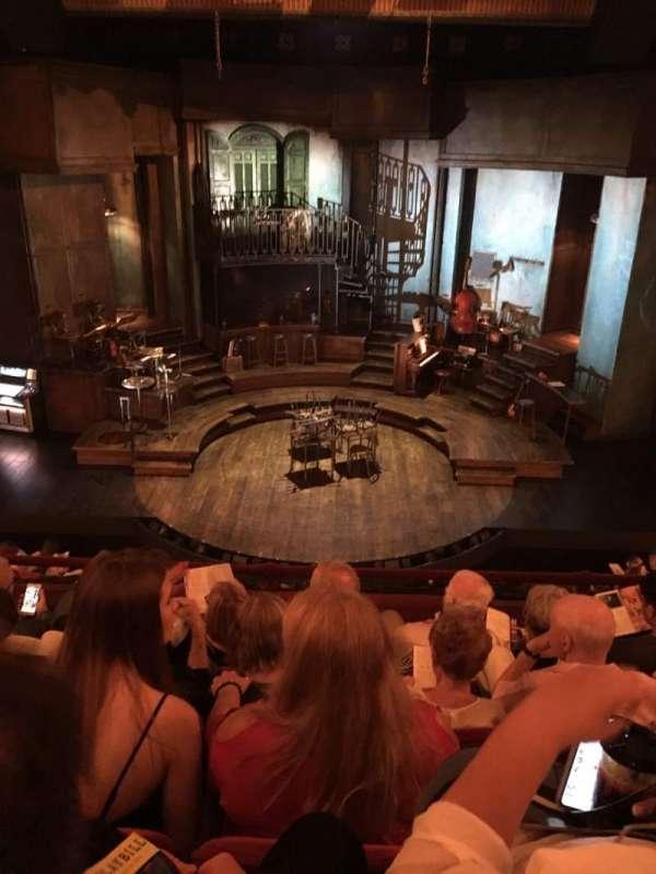 Walter Kerr Theatre, secção: Mezzanine C, fila: E, lugar: 108