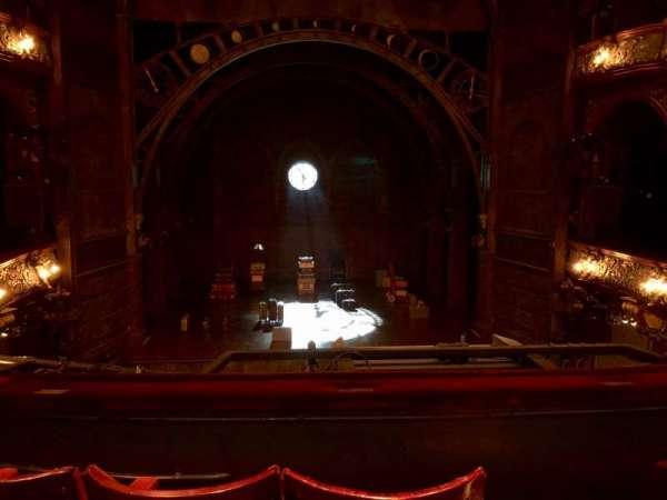 Palace Theatre (West End), secção: Dress Circle, fila: C, lugar: 22
