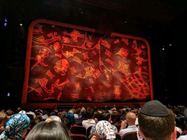 Minskoff Theatre, secção: Orchestra C, fila: N, lugar: 104