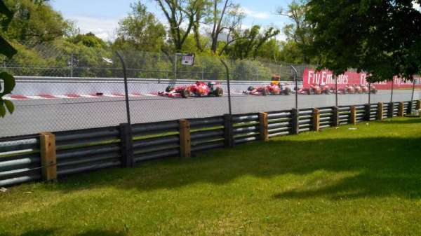 Circuit Gilles Villeneuve, secção: ga