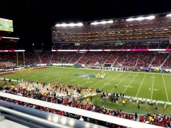 Levi's Stadium, secção: C212, fila: 1, lugar: 7