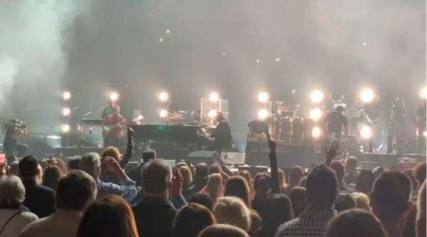 Madison Square Garden, secção: Floor A, fila: 17, lugar: 5