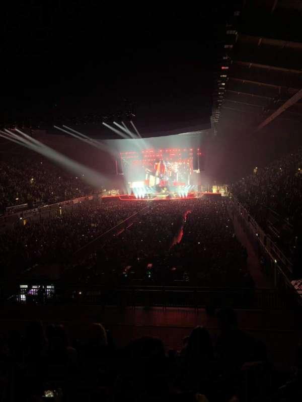 SSE Arena, Wembley, secção: E2, fila: M, lugar: 24
