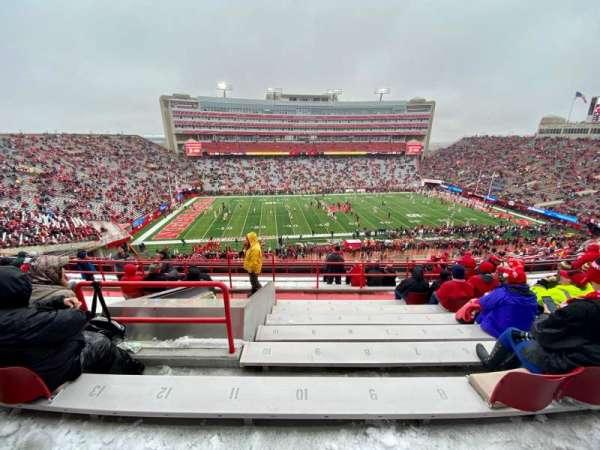 Memorial Stadium (Lincoln), secção: 108, fila: 14, lugar: 10