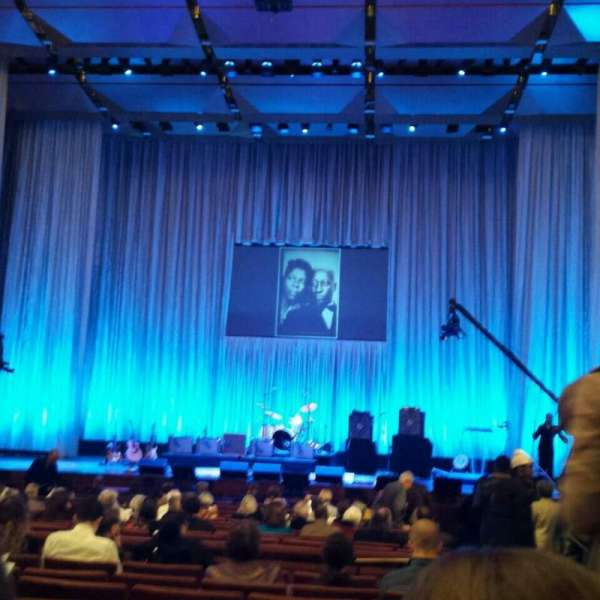 The Kennedy Center Concert Hall, secção: Orchestra, fila: W, lugar: 101