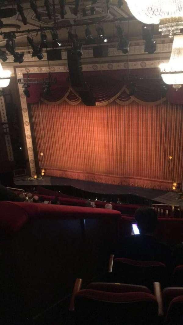Imperial Theatre, secção: Rear Mezzanine 2, fila: D, lugar: 7
