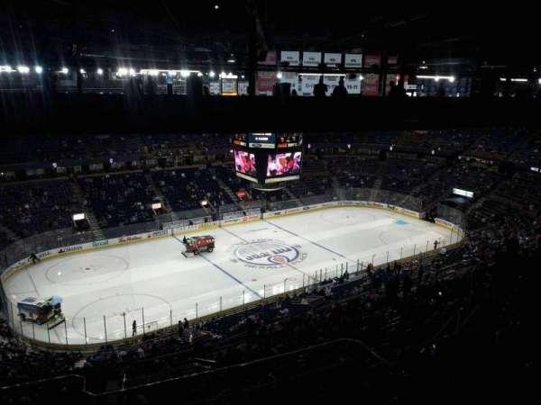 Northlands Coliseum, secção: 304, fila: 48, lugar: 15