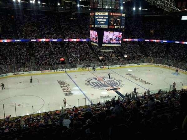 Northlands Coliseum, secção: 221, fila: 32, lugar: 10