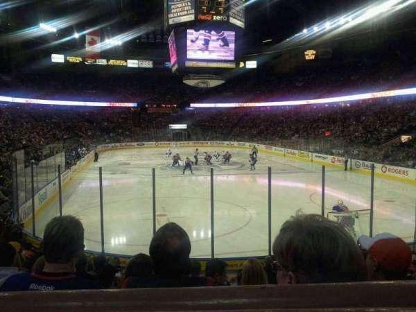 Northlands Coliseum, secção: 112, fila: 12, lugar: 3