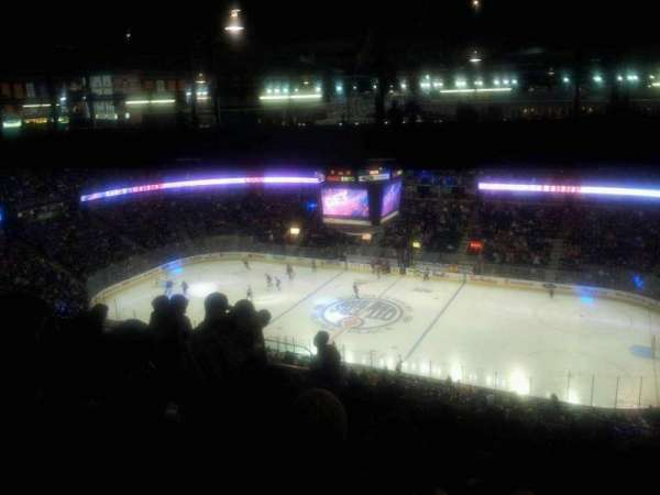 Northlands Coliseum, secção: 335, fila: 50, lugar: 3