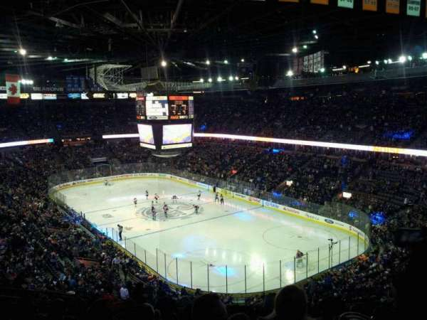 Northlands Coliseum, secção: 213, fila: 36, lugar: 10