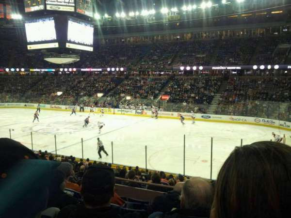 Northlands Coliseum, secção: 134, fila: 18, lugar: 10