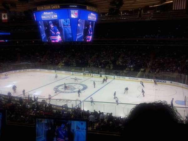 Madison Square Garden, secção: 213, fila: 2, lugar: 12