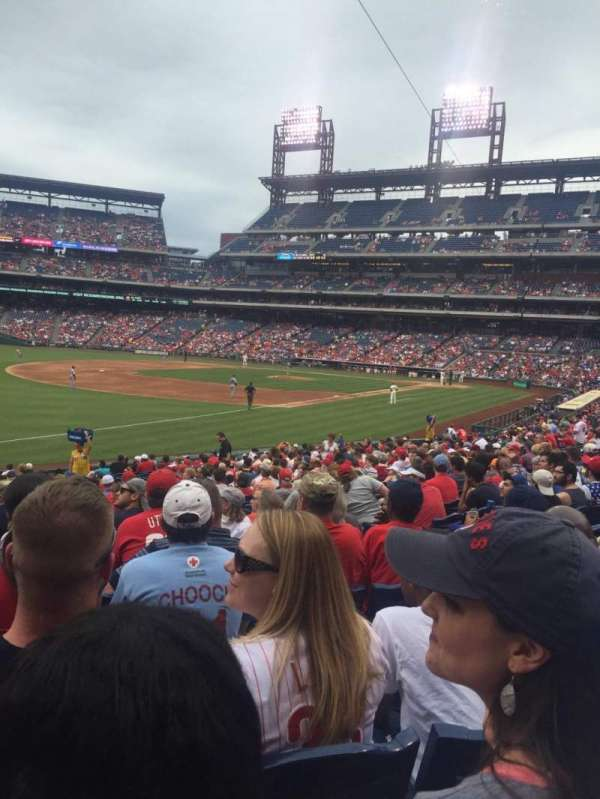 Citizens Bank Park, secção: 137, fila: 27, lugar: 7