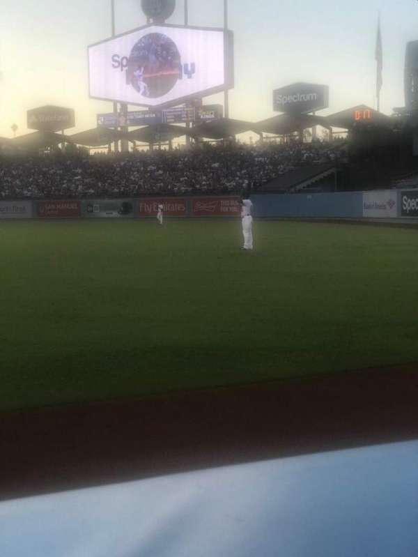 Dodger Stadium, secção: 48FD, fila: AA, lugar: 1