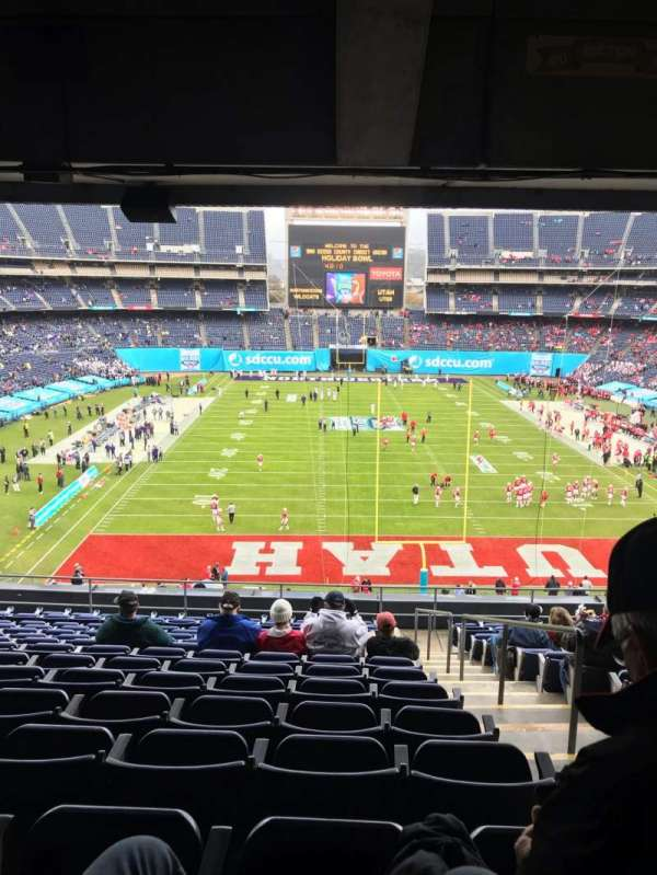 San Diego Stadium, secção: P20, fila: 15, lugar: 19