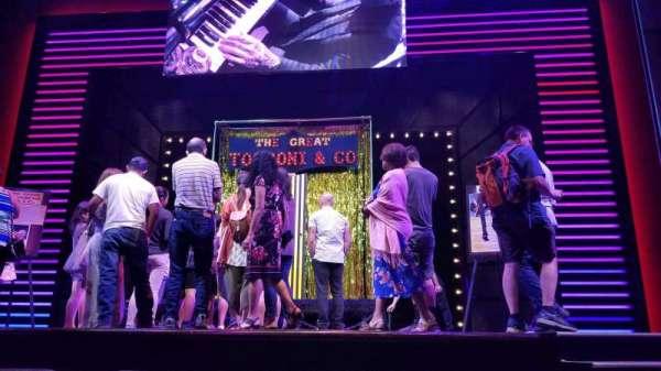 Penn & Teller Theater, secção: 2AMP, fila: A, lugar: 3