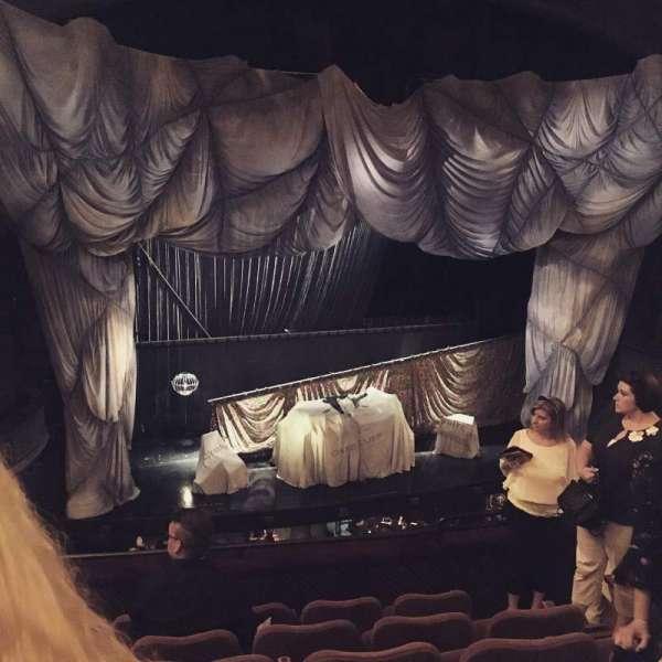 Majestic Theatre, secção: Front Mezzanine L, fila: F, lugar: 9