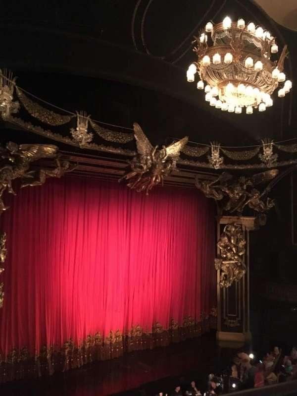 Majestic Theatre, secção: Front Mezzanine L, fila: A, lugar: 15