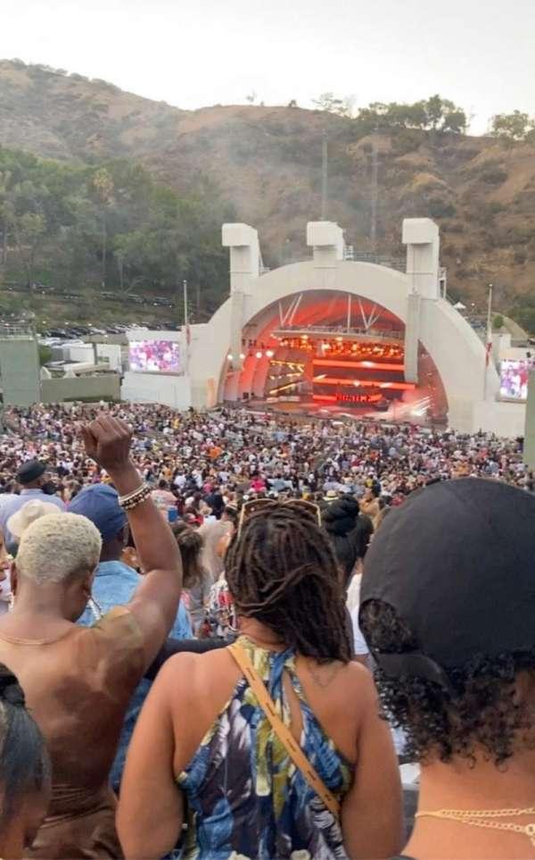 Hollywood Bowl, secção: L2, fila: 13, lugar: 112