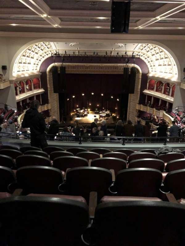 The Met Philadelphia, secção: Mezz3, fila: G, lugar: 11