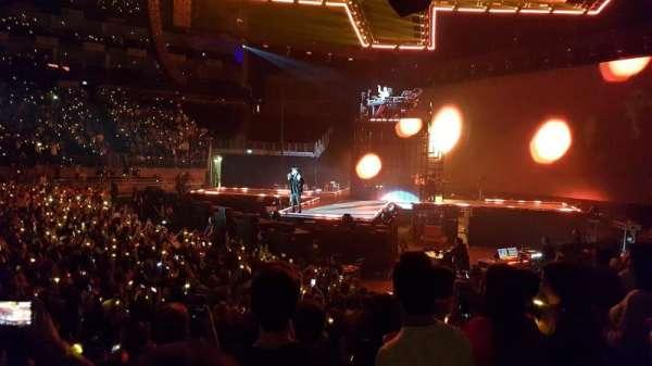 The O2 Arena, secção: 112, fila: H, lugar: 365