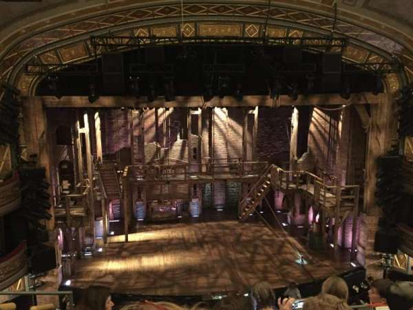 Richard Rodgers Theatre, secção: Front Mezzanine C, fila: E, lugar: 113