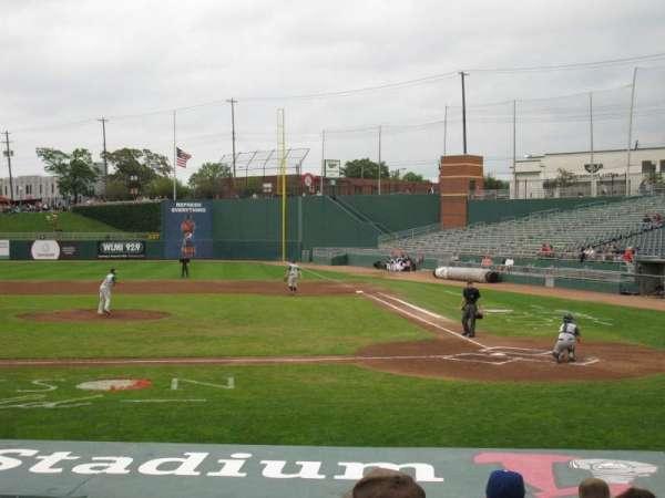 Cooley Law School Stadium, secção: M, fila: 11, lugar: 4