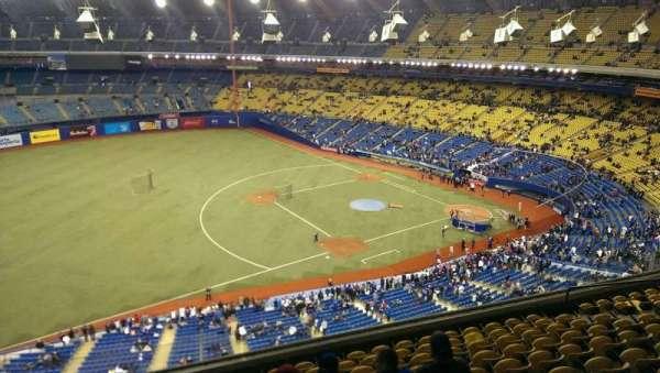 Olympic Stadium, Montreal, secção: 426, fila: A, lugar: 5