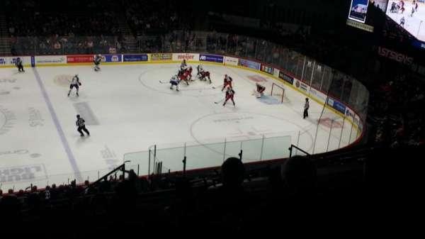 Van Andel Arena, secção: 222, fila: L, lugar: 5