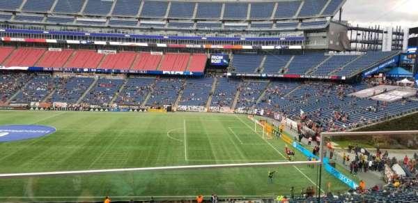 Gillette Stadium, secção: CL7, fila: 2, lugar: 2
