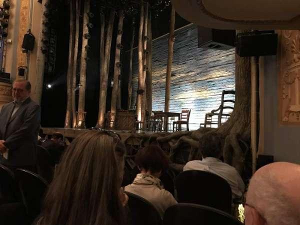 Gerald Schoenfeld Theatre, secção: Orchestra L, fila: D, lugar: 14