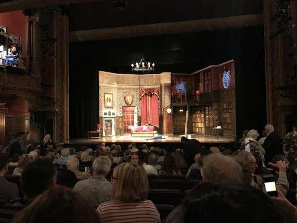Lyceum Theatre (Broadway), secção: Orchestra C, fila: O, lugar: 104