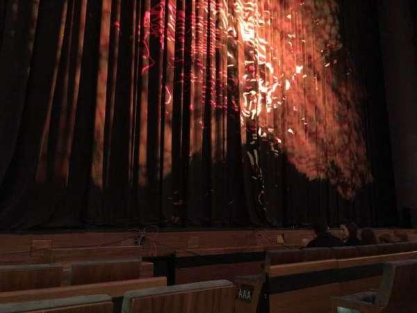 Winspear Opera House, secção: Orchestra Left, fila: CC, lugar: 1