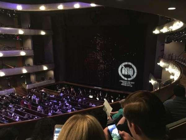 Winspear Opera House, secção: Mezzanine Center, fila: D, lugar: 50
