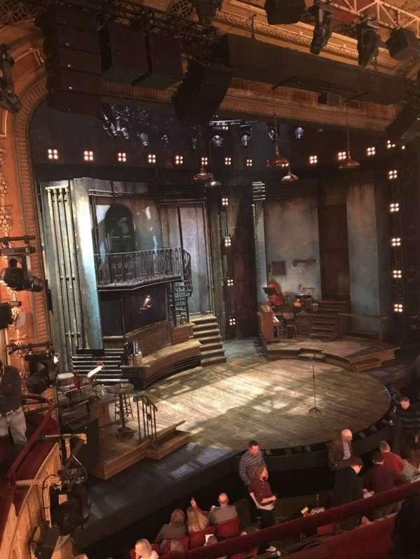 Walter Kerr Theatre, secção: Mezzanine L, fila: C
