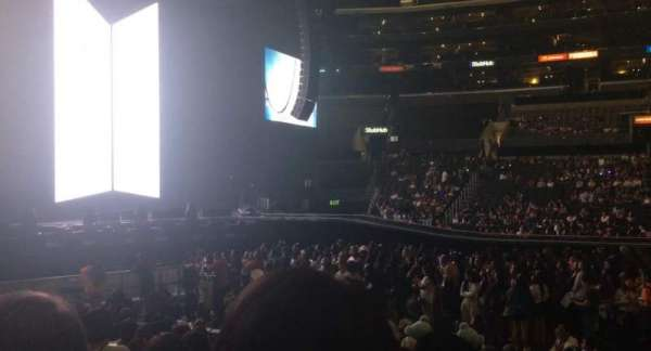 Staples Center, secção: 112, fila: 11, lugar: 3