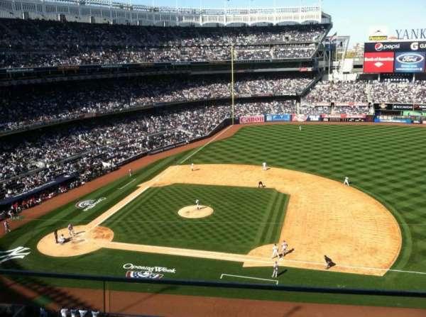 Yankee Stadium, secção: 315, fila: 2, lugar: 6
