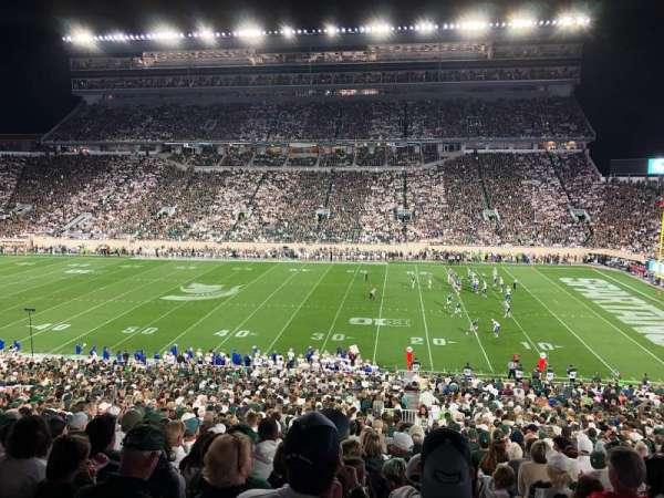 Spartan Stadium, secção: 7, fila: 52, lugar: 20