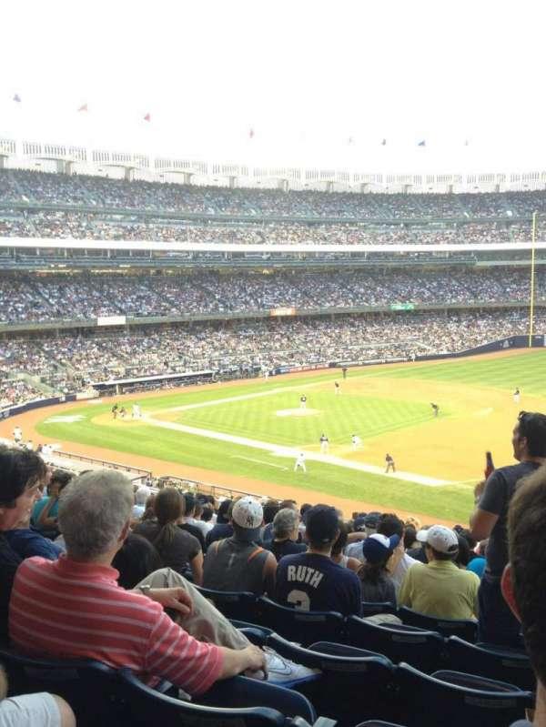 Yankee Stadium, secção: 213, fila: 15, lugar: 1-4