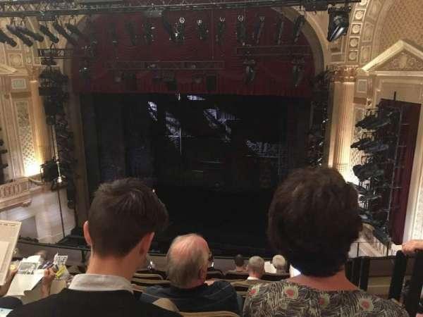Samuel J. Friedman Theatre, secção: Mezzanine C, fila: E, lugar: 120