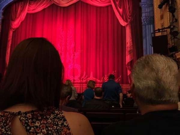 Hudson Theatre, secção: Orchestra C, fila: H, lugar: 118